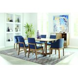 Vislobokov 7 Piece Dining Set by Brayden Studio®
