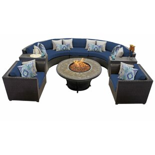 Tegan 8 Piece Sectional Seating Group with Cushions