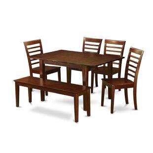 Lorelai 6 Piece Dining Set Alcott Hill
