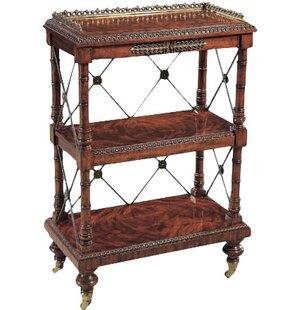 Regency George IV Etagere Bookcase