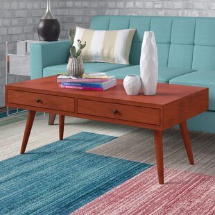 Pelham Modern Coffee Table with Storage by Langley Street