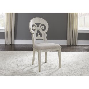Konen Splat Back Upholstered Dining Chair (Set of 2) Ophelia & Co.