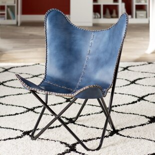 Affordable Sharon Leather Butterfly Lounge Chair By Zipcode Design