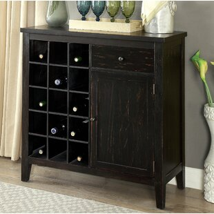 Danna 15 Bottle Floor Wine Cabinet