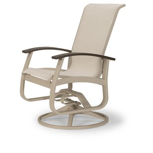 Belle Isle Swivel Patio Dining Chair (Set of 2)