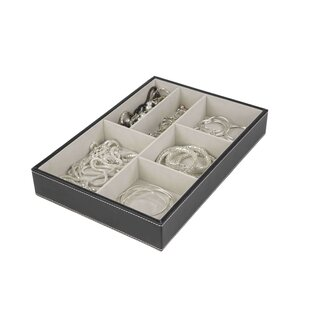6 Compartment Jewelry Accessory Tray ByHome Basics