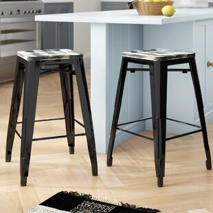 Isabel Bar & Counter Stool (Set of 2) by Laurel Foundry Modern Farmhouse