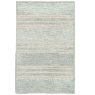 Neponset Hand-Woven Green Indoor/Outdoor Area Rug