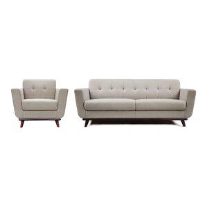 Diamond Sofa Coco Configurable Living Room Set