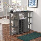 Feldt Bar with Wine Storage by Brayden Studio