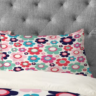 Ali Benyon Indigo Flower Pillowcase