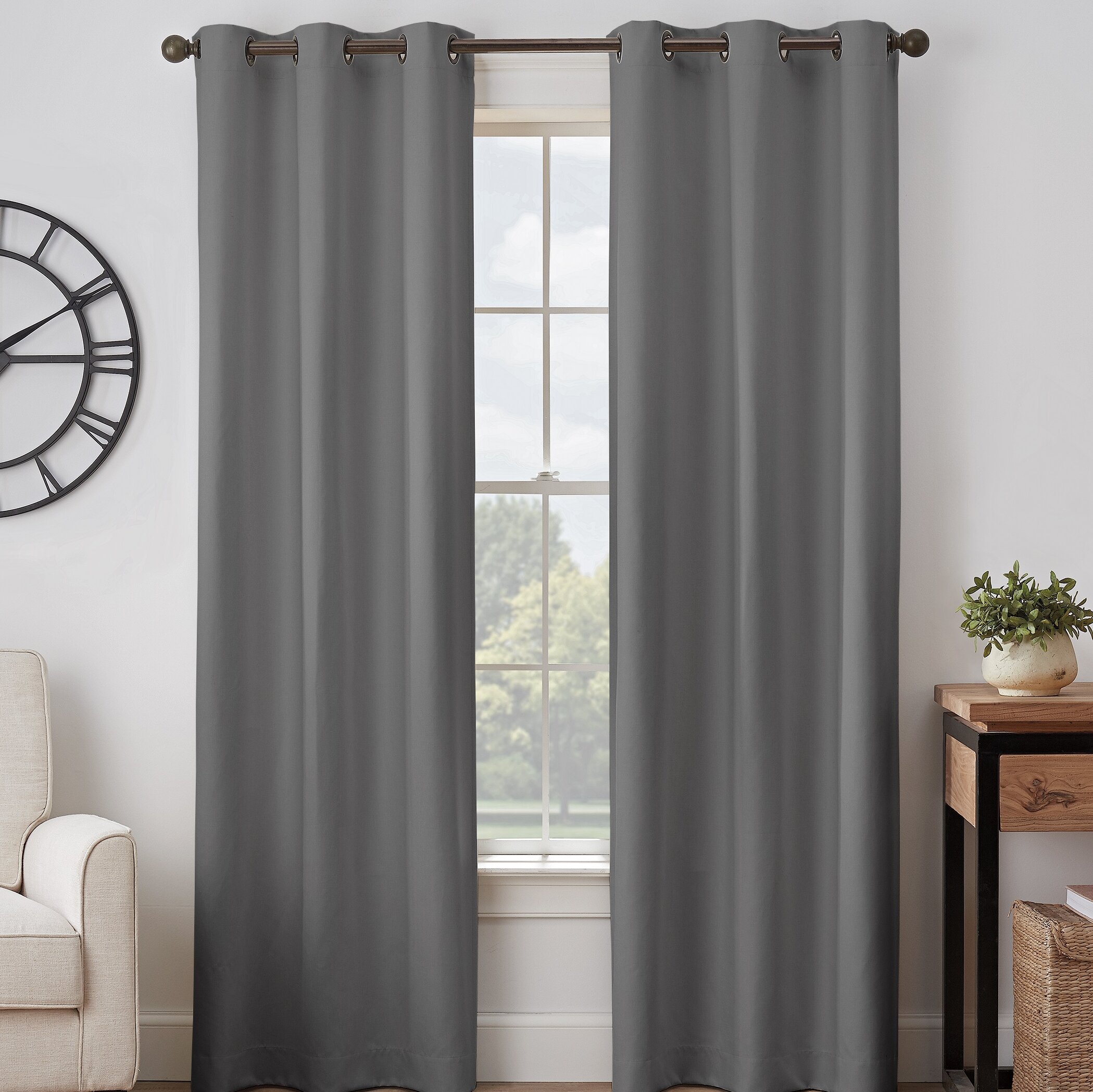 Black Blackout Curtains You Ll Love In 2021 Wayfair