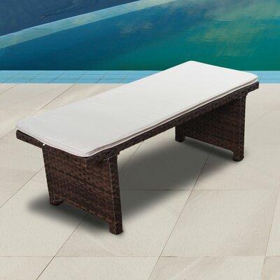 Terrific Florentina Garden Bench Breakwater Bay Color Brown Short Links Chair Design For Home Short Linksinfo