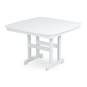 Nautical Square Dining Table