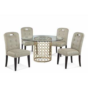 Rockhampton 5 Piece Dining Set byWilla Arlo Interiors