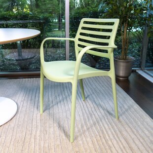 Wilbourn XL Stacking Patio Dining Chair (Set of 4)