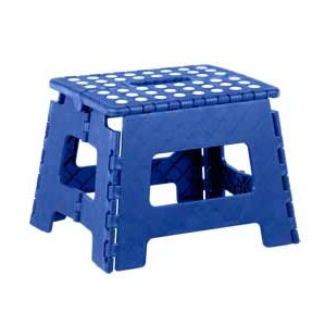 1-Step Plastic Folding Step Stool  sc 1 st  Wayfair & Blue Step Stools You\u0027ll Love | Wayfair islam-shia.org