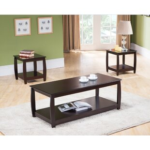 Canterbury 3 Piece Coffee Table Set