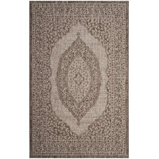 Myers Light Beige/Brown Indoor/Outdoor Area Rug