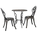 Koval 3 Piece Bistro Set
