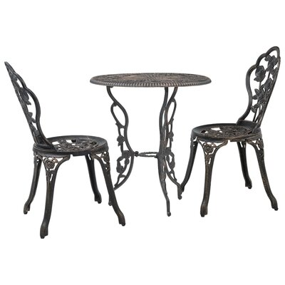 Koval 3 Piece Bistro Set by Alcott Hill Cool