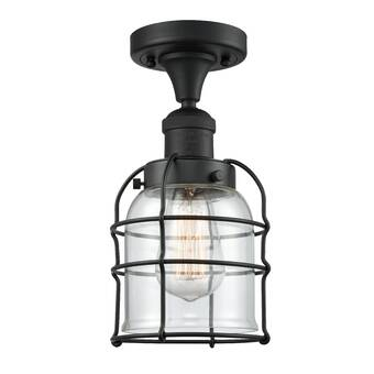 Latitude Run Elisheba 4 Light 20 Unique Statement Geometric Semi Flush Mount Wayfair