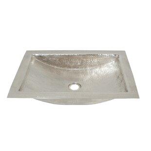Reviews Avila Metal Rectangular Undermount Bathroom Sink ByNative Trails, Inc.