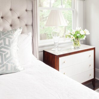 ... Mid Century Nightstands Are Instantly Recognizable By Their Box Like  Shape And Delicately Tapered Legs. Affording Maximum Space With A Sleek  Minimal ...