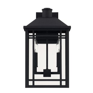Chad 2-Light Outdoor Wall Lantern