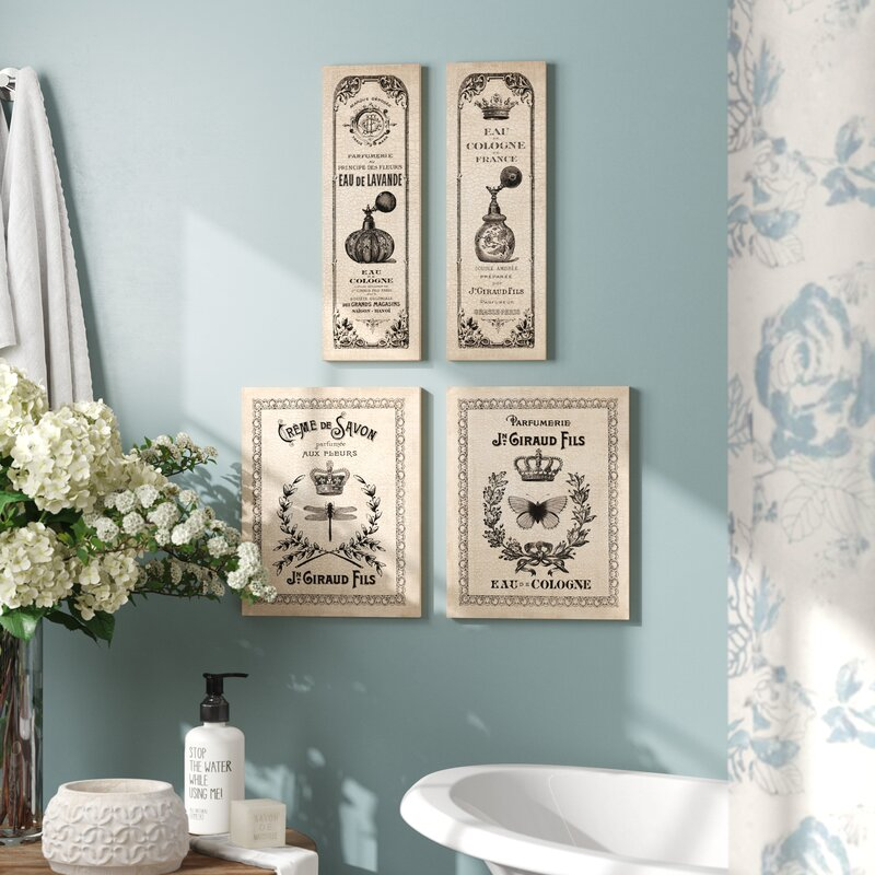 One Allium Way Classic French Inspired Hotel Bath Panels And Signs