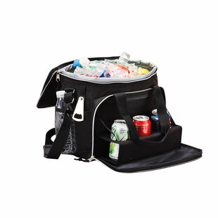 24 Can Cooler with Picnic Bag and Tray