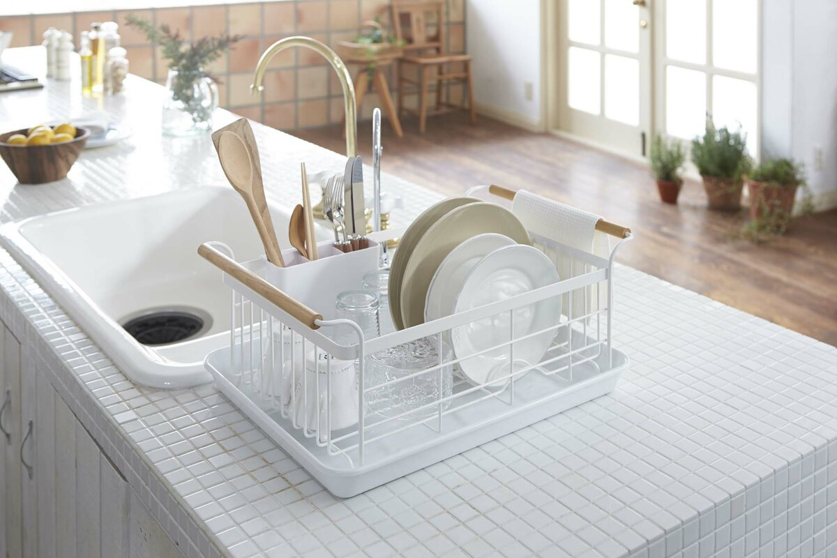 Yamazaki USA Tosca Dish Drainer Rack & Reviews | Wayfair