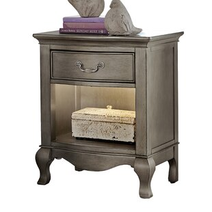 Troutdale 1 Drawer Nightstand by Greyleigh