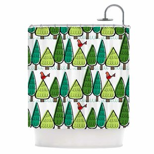 Vintage Christmas Single Shower Curtain