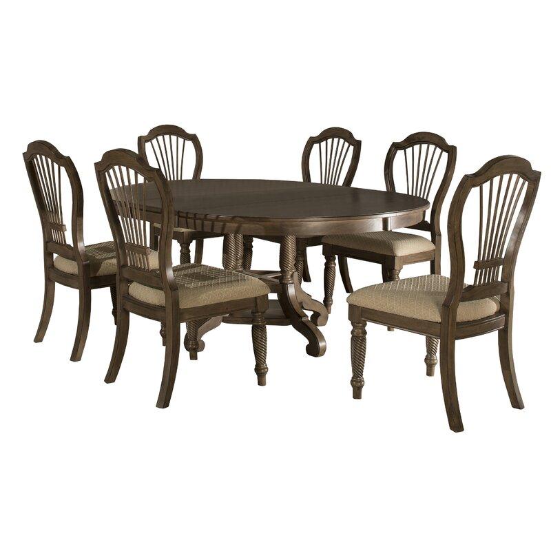 Ordinaire Wilshire 7 Piece Extendable Dining Set