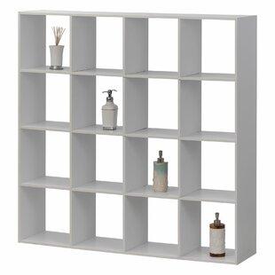 Duprey Backboard 16 Cube Bookcase