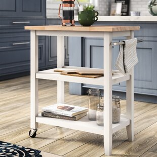 Raabe Kitchen Cart by Andover Mills