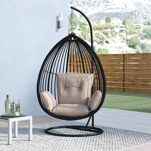 3dbd713085f Rattan Wicker Pod Swing Chair