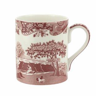 Cranberry Italian 16 oz. Coffee Mug (Set of 4)