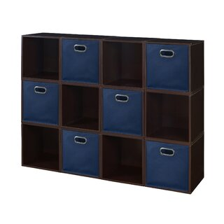 12 Cube Unit Bookcase by Rebrilliant SKU:CA743470 Details