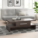 Stupendous Map Drawer Coffee Table Wayfair Evergreenethics Interior Chair Design Evergreenethicsorg