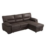 Cambie 99 Reversible Sleeper Sectional by Winston Porter
