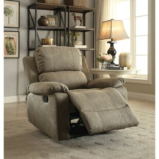 Nadler Upholstered Manual Glider Recliner