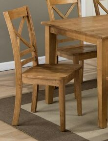 Parham Solid Wood Dining Chair (Set of 2) Alcott Hill