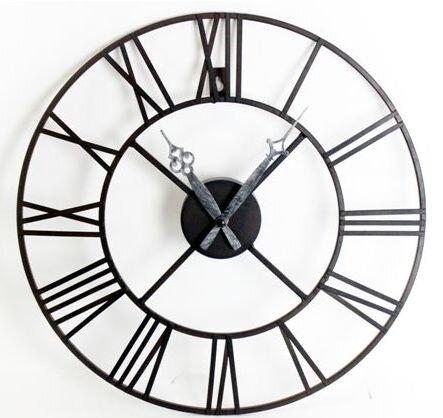 laurel foundry analoge wanduhr 40 cm bewertungen. Black Bedroom Furniture Sets. Home Design Ideas