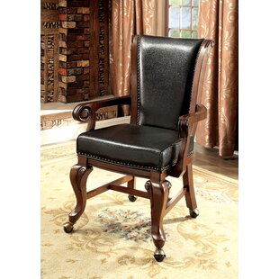 Transitional Upholstered Dining Chair (Set of 2) Astoria Grand