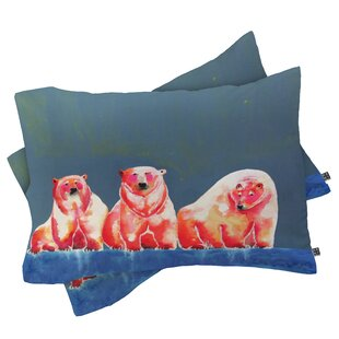 Clara Nilles Polarbear Blush Pillowcase by Deny Designs Great Reviews