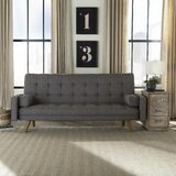 Hollywood Twin 82 Tufted Back Futon and Mattress by Langley Street™