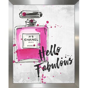 'Hello Fabulous' Graphic Art Print