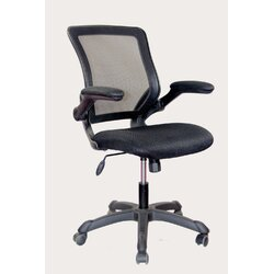 Black Desk Chair techni mobili mesh desk chair & reviews | wayfair